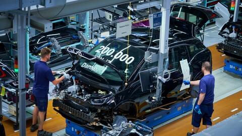 El pequeño BMW i3 alcanza las 200.000 unidades fabricadas