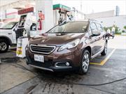 Peugeot 2008 2015, prueba de consumo de combustible en ciudad