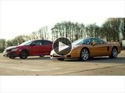 Video: Honda Civic Type R vs Honda NSX de 2005... ¿quién gana?