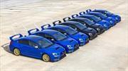 Subaru WRX STi empieza a despedirse y arranca por España