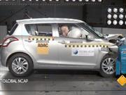 Suzuki Swift obtiene 3 estrellas en pruebas de Latin NCAP
