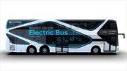 Hyundai presenta su colectivo eléctrico de dos pisos