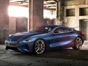 BMW Serie 8 Concept, un espectacular coupé repleto de lujo y deportividad