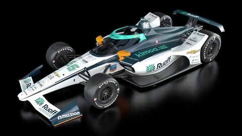 Fernando Alonso volverá a IndyCar de la mano de este Dallara-Chevrolet