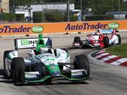 Buen fin de semana para Carlos Muñoz en doble top 10 de la IndyCar