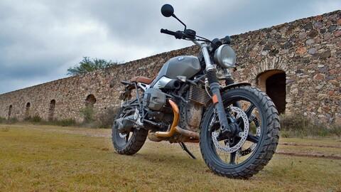 BMW R nineT Scrambler lista para la aventura diaria
