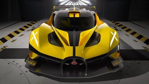Bugatti Bolide se lanzará en 2024