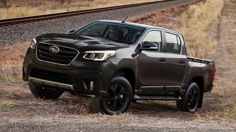 ¿Cómo estaría una camioneta Subaru basada en la Hilux?