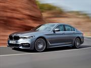 El BMW Serie 5 2017, discreta evolución