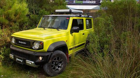 Vienen 1,000 unidades más del Suzuki Jimny a México mediante una segunda preventa