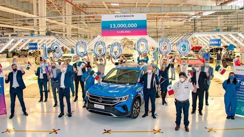 Volkswagen completó 13 millones de autos fabricados en un su planta de Puebla, México