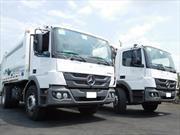 Camiones Mercedes-Benz, encargados de poner orden en Bogotá