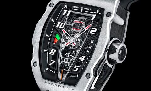RM 40-01 Automatic Tourbillon McLaren Speedtail: el reloj más extremo de Richard Mille