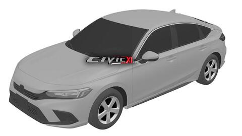 Honda Civic 2021 se filtra en internet