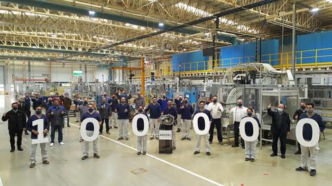 Volkswagen Argentina ya exportó 100.000 transmisiones MQ281