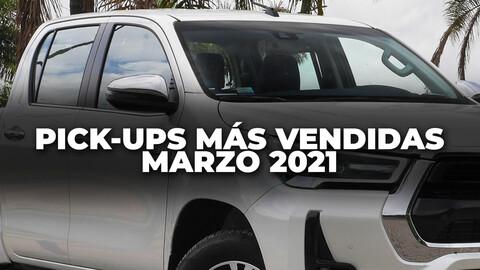 Top 10: Las pick-ups más vendidas de Argentina en marzo de 2021