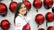 Tatiana Calderón volverá a probar un Fórmula 1