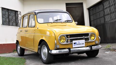 Renault 4, amigo fiel… eléctrico