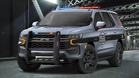 Chevrolet Tahoe Police Pursuit Vehicle 2021, una patrulla con mucho estilo