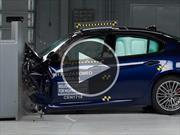 Video: Alfa Romeo Giulia recibió grandes notas en las pruebas de choque