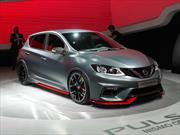 Nissan Pulsar Nismo Concept pisa tierras francesas