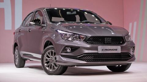 FIAT Cronos 2021: actualización ligera para el sedán