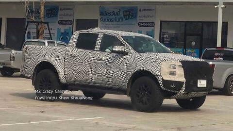 Nueva Ford Ranger Raptor 2023, casi sin disfraz
