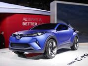 Toyota C-HR Concept, anticipa un pequeño crossover deportivo para la marca