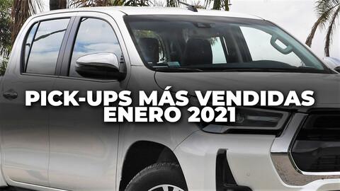Las pick-ups más vendidas en Colombia en enero de 2021
