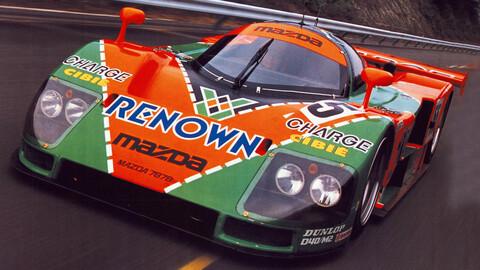 Mazda celebra 30 años de la victoria en Le Mans con un motor rotativo