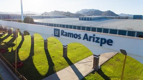 General Motors celebra 40 años de producción del Complejo Ramos Arizpe