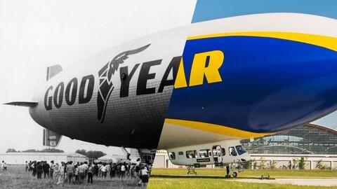 Conozca la historia del icónioco zeppelin de Goodyear