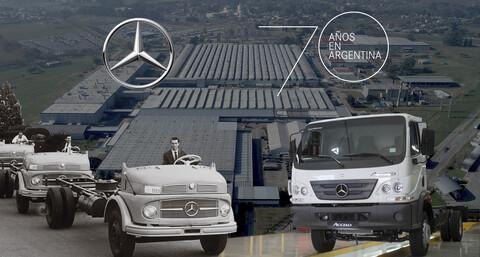 Mercedes-Benz realizará una caravana con autos históricos por Buenos Aires