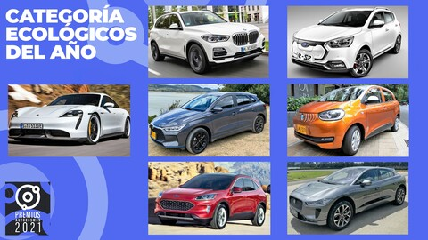 Premios Autocosmos: candidatos a vehículo ecológico 2021