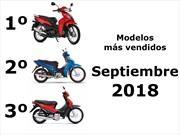 Top 10: Las motos más vendidas en septiembre de 2018 en Argentina