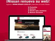 Nissan Colombia cambia su página web