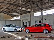 Prueba doble BMW Serie 1: 116 Diesel con kit M y M 135