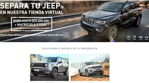 Plataforma de comercialización Jeep Store