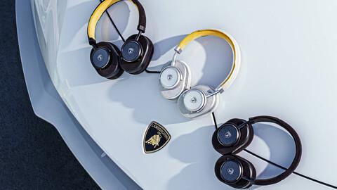 Estos son los nuevos audífonos de Lamborghini