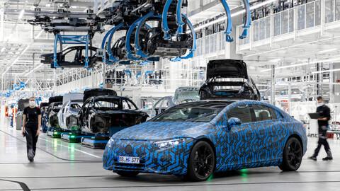 Mercedes-Benz prepara 6 nuevos modelos EQ para antes de 2023