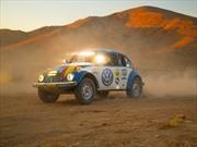 Este es el Volkswagen Beetle que participó en la Baja 1000