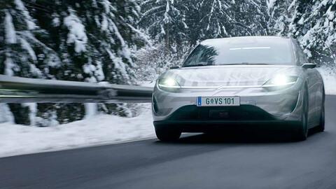 Vision-S, primer auto eléctrico de Sony, está en fase de pruebas