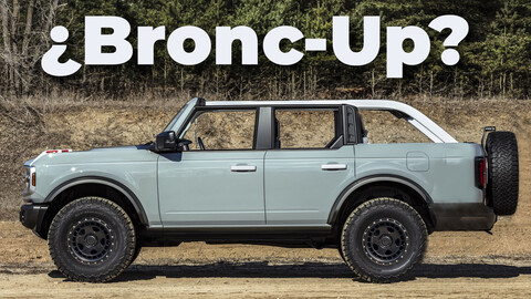 Ford Bronco pickup, la posible anti Gladiator del óvalo