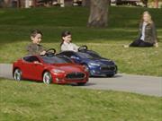 Tesla Model S for Kids by Radio Flyer, el auto eléctrico al alcance de los niños