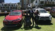 Mariana Pajón y Mauricio Valencia son los nuevos embajadores de Toyota