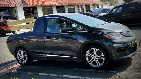 Un cliente transformó su Bolt EV en una flamante pickup eléctrica