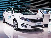 Kia Optima T-Hybrid: Estreno oficial en París