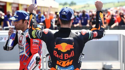 MotoGP 2021: Miguel Oliveira le dio el primer éxito del año a KTM
