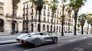 Hispano Suiza Carmen, el deportivo eléctrico catalán ya rueda por las calles de Barcelona