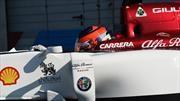 Tatiana Calderón cumplió con éxito su tercera prueba con Alfa Romeo Racing F1